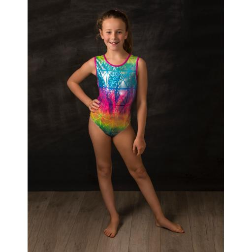 Harlequin Leotard