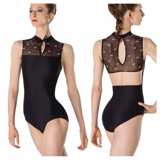 Wear Moi Mandarin Collar leotard