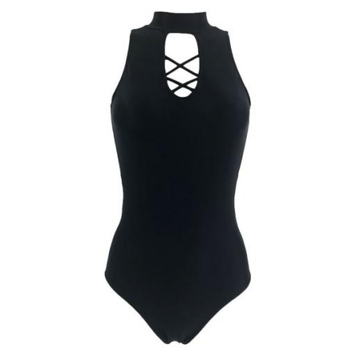 So Danca criss cross front leotard