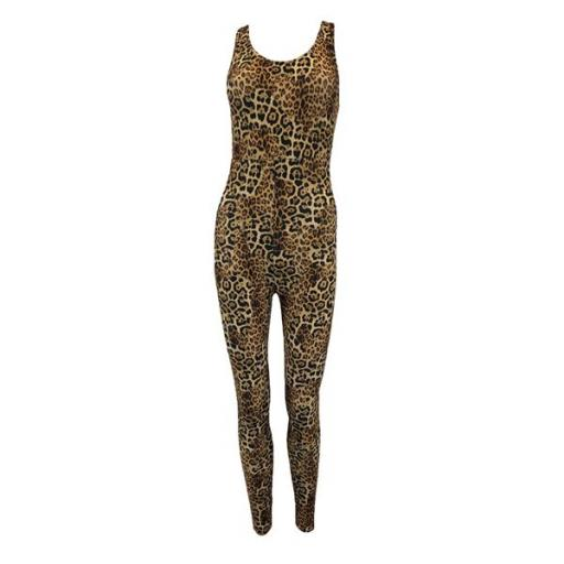 Clawsome animal print catsuit