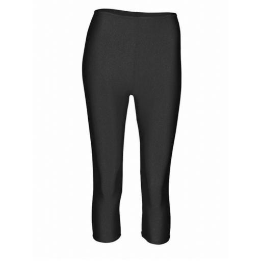 Nylon capri leggings