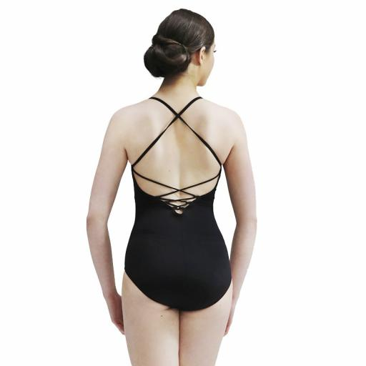 So Danca strappy back camisole leotard