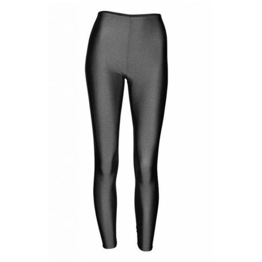 Nylon footless tights/leggings