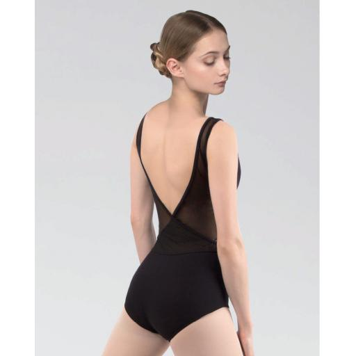 Grishko Mesh low back leotard