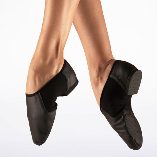 Bloch Neo-Flex split sole leather jazz shoes